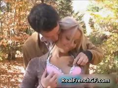 Teen french bombshell forest fucking fun tube porn video