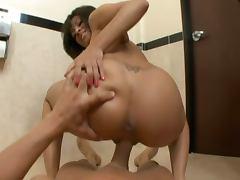 Bathroom, Babe, Bath, Bathroom, Big Tits, Brunette
