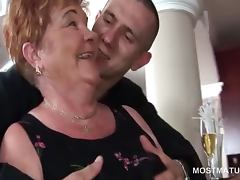 Kinky mature sluts pole dancing in group sex tube porn video