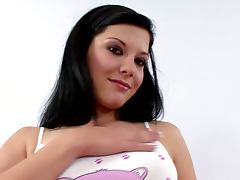 What she does with pleasure is some pussy fingering