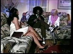 Bimbo, Bimbo, Ebony, Interracial, Sex, Stockings
