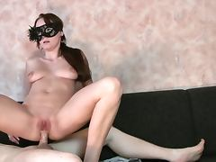 Michelle fucked in pussy and ass