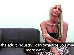 Euro amateur strips for a porn audition