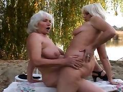 Horny lesbian grannies