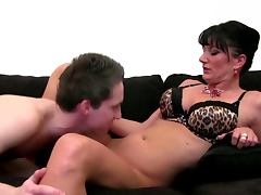Sexy porn casting mature drilled hard