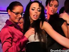 Hardcore party groupsex with hot babes part2