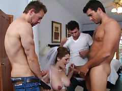 Bedroom, Anal, Bedroom, Blowjob, Bride, Brunette
