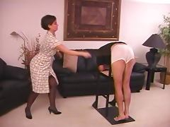 Caned by Strict Lady tube porn video