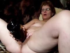 Bottle, Amateur, Bottle, Masturbation