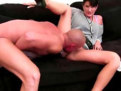 Sex casting with raven busty mature