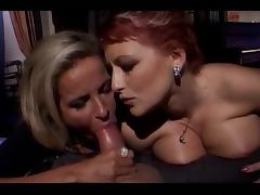 Silvia Christian and Ester Smith FFM Threesome porn tube video