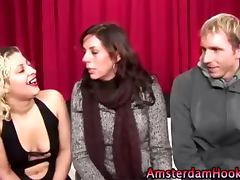 Real dutch hooker oral tube porn video