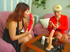 lesbian mature strapon tube porn video