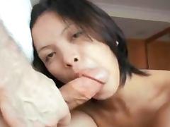 Beutiful thai takes a big italian dick tube porn video