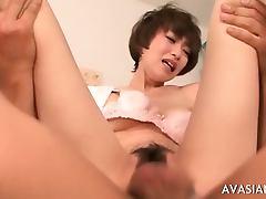 Asian Bitch Gets Her Ass Drilled
