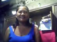 FILIPINA GRANDMA MERLEN DELA VICTORIA 53 SHOWING HER BOOBS tube porn video