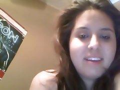 Chubby Latina Hairy Pussy Masturbating On Webcam porn tube video