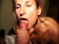 submissive blonde wife takes multiples cocks and so much cum