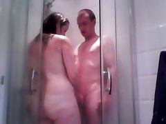 Bath, Amateur, Bath, British, Shower, UK