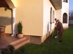 Gardener fuck the boss wife porn tube video