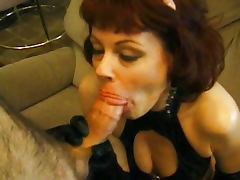 Mature pussy slut sucking and fucking tube porn video