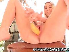 Angela Japanese Blonde Veggie And Fruit Stuffing