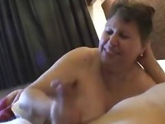 Mature Handjob tube porn video