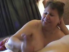 Mature Handjob tube porn video