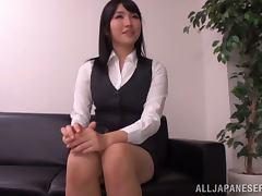 Satomi Nomiya sucks three cocks and gets fucked like never before
