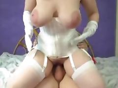 Huge natural boobs Sexy milf BBW tube porn video