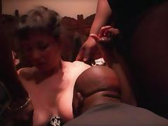 French Gangbang in Restaurant 2 tube porn video