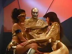 Science Fiction sex starred by porn legend Mai Linn