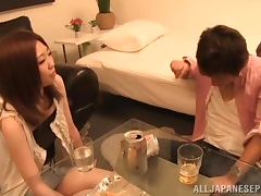 Drinking, Amateur, Asian, Couple, Drinking, Drunk