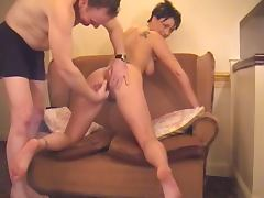 English Milf Makes Her First Porno !