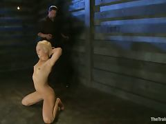 Bondage video with Dylan Ryan getting toyed and fingered