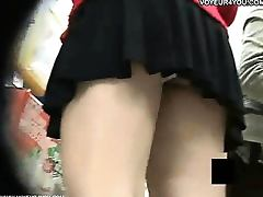 Upskirt Panties On Spy Camera