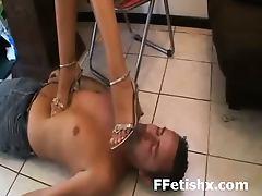 Nasty Whore Long Leg Adoring And Fetish Extreme