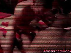 Amsterdam hooker gets a cumshot tube porn video