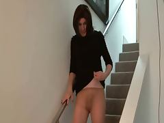 Naked babe cock tease gif