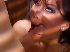 Asian having good sex in a bar