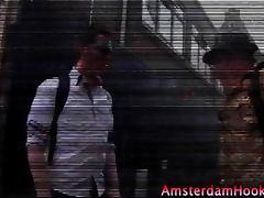 Brunette amateur real amsterdam whore tube porn video