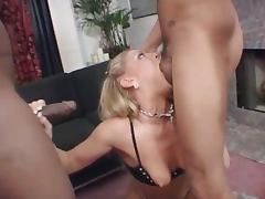 nasty blonde anal whore