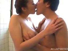 Bath, Asian, Bath, Bathroom, Blowjob, Couple