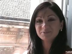 Lea Lexis gets humiliated in a cafe and enjoys it much