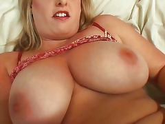 Big blonde delicious pussy playing