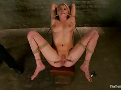 Super hot Allie James gets fucked and humiliated
