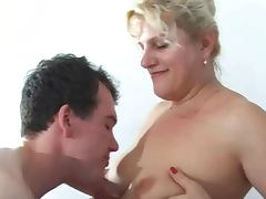 Anal Blonde Mature Russian tube porn video