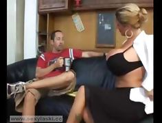 Very Hot Big Tit Milf Teacher Loves Dick