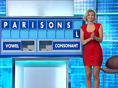 Rachel Riley Tight Red Dress tube porn video