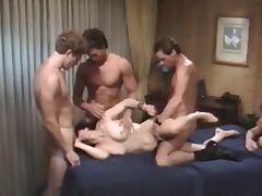 5some, Gangbang, Vintage, 5some